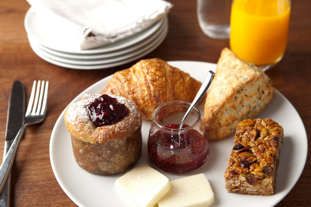 Pastry Basketchoose three pastries, seasonal preserves & spring hill butter$12.5Photo credit: Rick Poon Photography